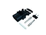 Akkumulátor csatlakozó, dugalj, 50 mm2, 320 A