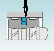 O-gyűrű feszíti a tömítést a hengerpalásthoz