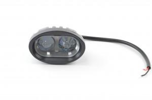 Kicsi munkavédelmi kék fény, 12-80 V