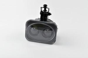 Munkavédelmi piros fény, 12-80 V